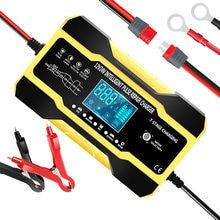 12V 10A 24V 5A Puls Reparatur Ladegerät mit LCD Display, Motorrad & Auto Batterie Ladegerät, automatische Smart Schnelle Batterie Ladegerät