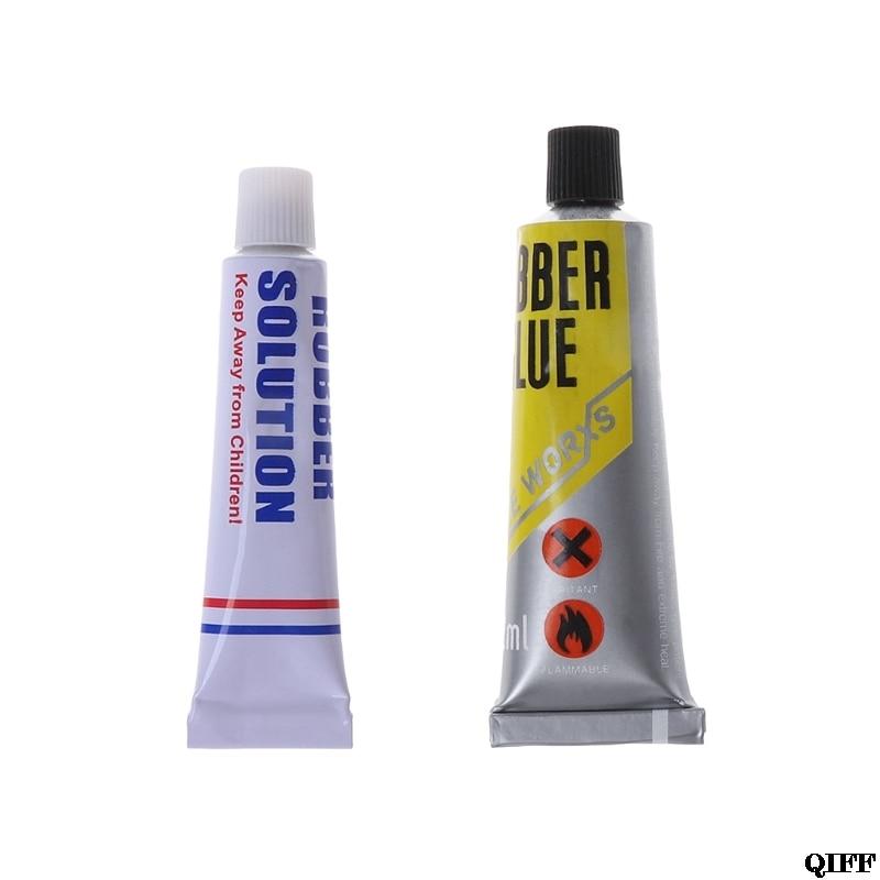 Bicycle Tire Repair Glue 5ml/12ml Portable Mountain Bike Cement Rubber Solution