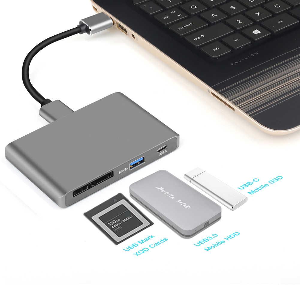 CFast 2.0 قارئ بطاقات SD XQD محول المحمولة المهنية قارئ بطاقات الذاكرة CFast لمستخدمي التصوير الفوتوغرافي بث الفيلم