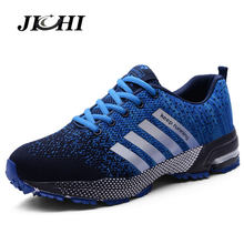 Summer Breathable Men Shoes Casual Shoes Men Fashions Male Mesh Shoes Men Sneakers Big Size Zapatillas Hombre Blue 2019 New(China)