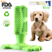 VOVOPET Pet Dog Toothbrush Dogs Chew Toys Soft Rubber Teeth Cleaning for Small dogs Pets Toothbrushes Puppy Dental Care