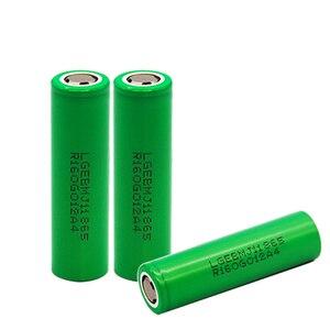 Image 5 - 1 10PCS 100% מקורי MJ1 3.7 v 3500 mah 18650 ליתיום נטענת סוללה עבור פנס סוללות עבור LG MJ1 3500 mah סוללה