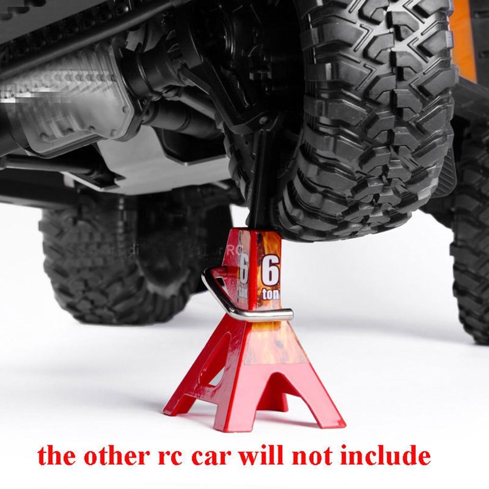 Metal Jack Stand 6Ton for 1//10 RC Car Decor Accs Repairing Tools Parts
