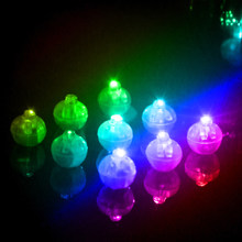 Christmas Halloween Decor Light Round Ball Led Balloon Lights Mini Flash Lamps Lantern Wedding Party Decoration(China)