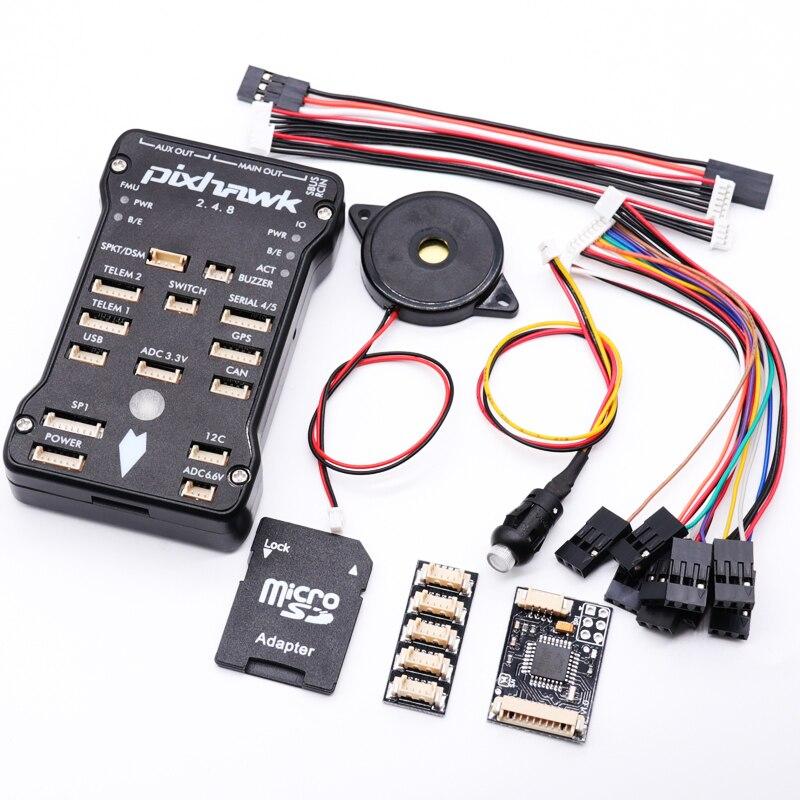 Pixhawk 2.4.8 PX4 PIX 32 бит Контроллер полета Автопилот с 4G SD переключатель безопасности зуммер PPM IEC для RC квадрокоптера-in Детали и аксессуары from Игрушки и хобби on AliExpress - 11.11_Double 11_Singles' Day