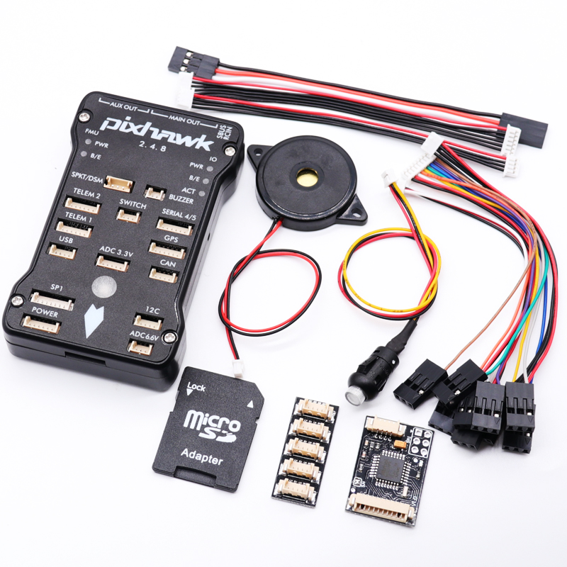 Pixhawk 2.4.8 PX4 PIX 32 Bit Flight Controller Autopilot with 4G SD Safety Switch Buzzer PPM I2C for RC Quadcopter-in Parts & Accessories from Toys & Hobbies