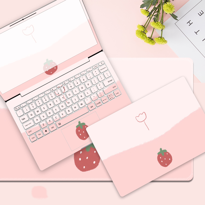 Cute Girl Laptop Sticker DIY Gift Laptop Decoration Skin Laptop Protection For Acer AN515 Hp PAVILION 15 Lenovo Ideapad Msi GE62