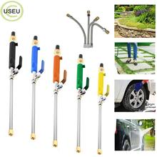 USEU 46cm Metal High Pressure Water Gun Power Jet Car Washer Extendable Cleaner Garden Washing Tool With 2 Sprays