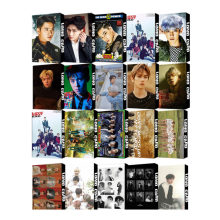 Photocard KPOP EXO EXO-SC Album Self Made Paper Lomo Card Photo Cards Poster Fans Gift Collection 30pc(China)