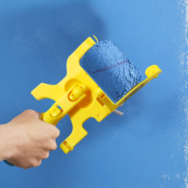 Wall Treatment Painting Tools Clean-Cut Paint Edger Roller Brush Painting Edging Tools for Wall Ceiling Door