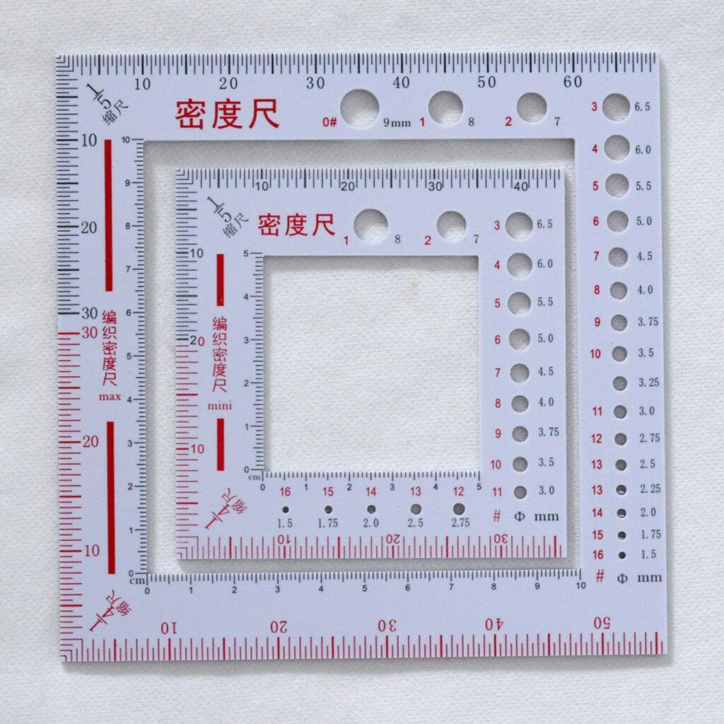 Купить 2 набора квадратной стежка подсчитывающая рамка пластиковая