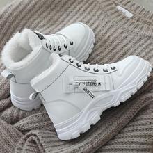 2020 winter Platform Increase ankle Shoes Women Plush Snow b