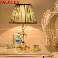 Crystal table light desk lamp dimmer reading light for living room bed room reading room