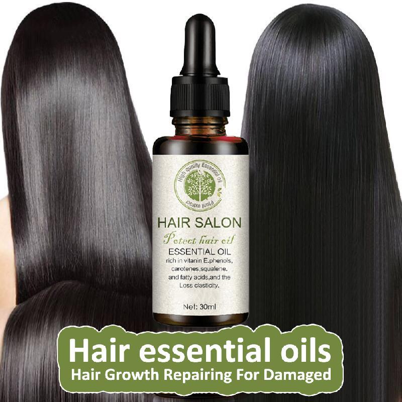 Powerful Hair Growth Essence Hair Repair Treatment Liquid Regrowth Essential Oil Serum Preventing Hair Loss Fast Restoration