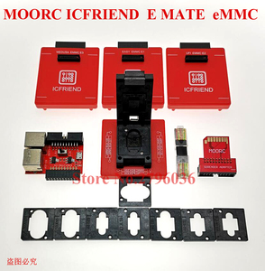 Image 4 - latest High speed version MOORC E MATE X  EMMC EMATE BGA 13 IN 1 for riff   easy jtag plus  ufi  medusa pro  and  emmc   atf box