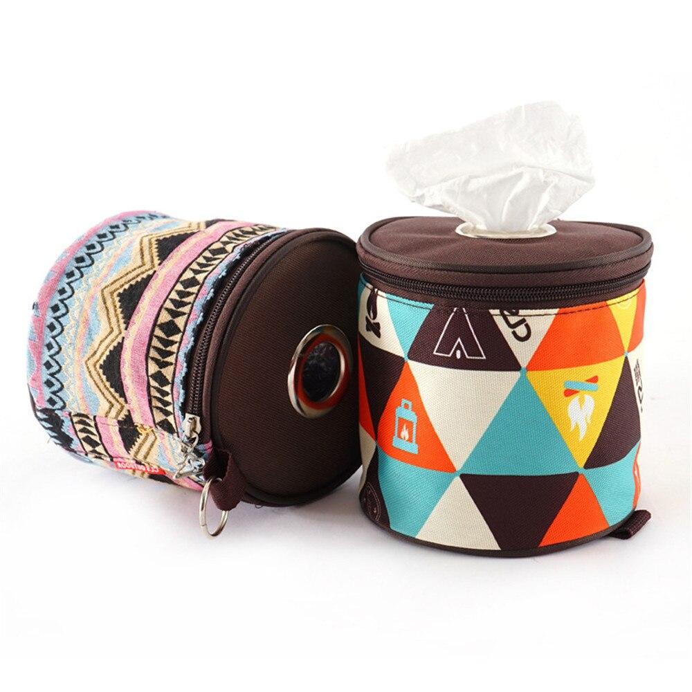 Легкий портативный рулон ткань сумка туалет бумага хранение держатель для кемпинга кемпинга на открытом воздухе пикника палаток