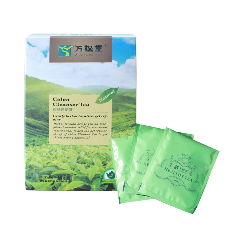 Cleanser Tea 20 Teabags Chinese Body Slimming Colon Cleanser Healthy Care Herbal Diet Tea