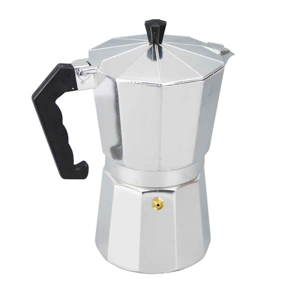 Aluminum 1/3/6/9/12 Cup Latte Mocha Coffee Pot Stove Top  Maker Tool Easy Clean For Home Office Coffee & Tea Tools