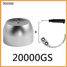 وحدة تثبيت ممغنطة للغولف 20000GS + مفتاح ربط لوحة معدنية + مزيل علامة بصرية + وصلة إزالة علامات الجولف لأنظمة المعدات الإلكترونية