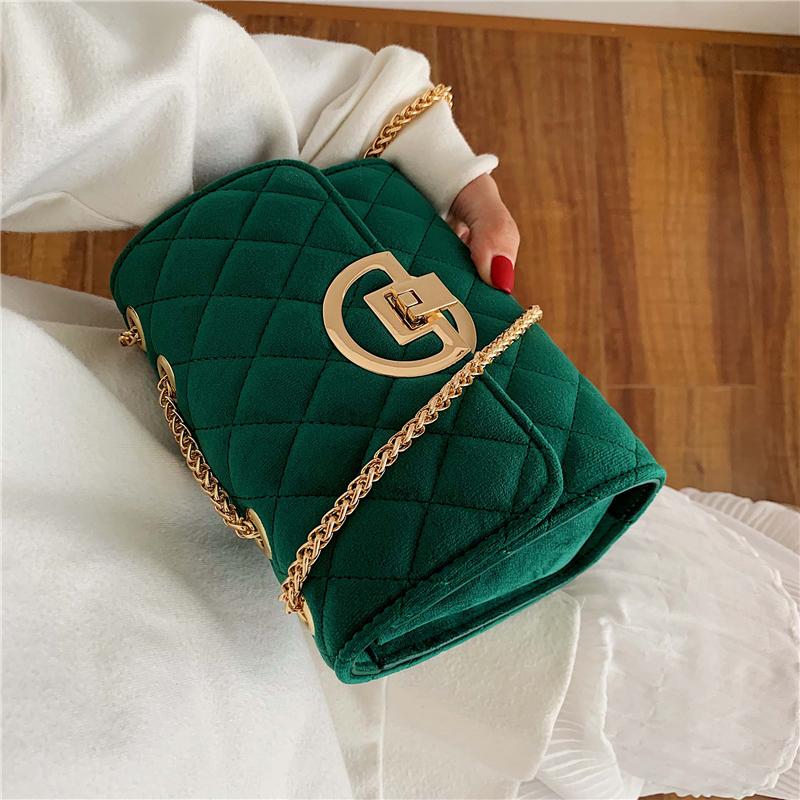Vintage-Fashion-Female-Plaid-Square-Bag-2020-New-Quality-Velvet-Women-s-Designer-Handbag-Lock-Chain