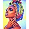Картина по номерам 40X50 50x65 см обувь в африканском стиле; Пикантная обувь Красота персонаж Wall Art подарок Сделай Сам картины маслом по номерам х...