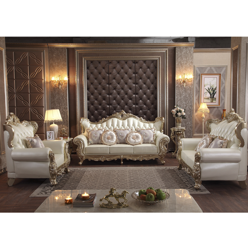 Loyal Classic Leather Sofa Set Royal Living Room Furniture Of Sofa Set Designs And Prices Living Room Sofas Aliexpress