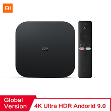 Global Versie Xiaomi Mi Tv Box S Android 9.0 2Gb Ram 8Gb Rom Smart Tv Set Top Box 4K Quadcore Hdmi Wifi Mali 450 1000Mbp Speler
