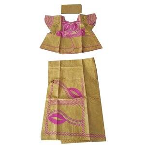 Image 3 - MD アフリカの伝統的な服スーツ刺繍 dashiki バザンリッシュスカートセット 2019 南アフリカ服トップス