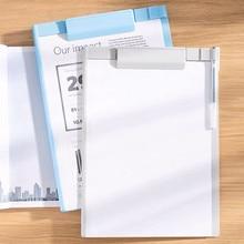 New Arrival A4 A5 File Folder Document Clip Writing Board Report Folder Desktop Organizer School Office Accessories Stationery