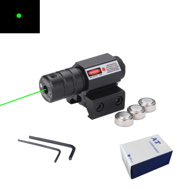 Metal Laser Sight Red and Green Outside Laser Sight Under Hanging Laser Indicator Gun Laser Sight Pistol Accessories