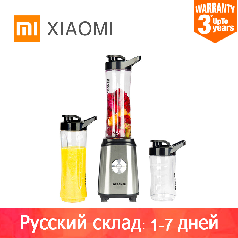 XIAOMI MIJIA QCOOKER Fruit Vegetables blenders Cup Cooking Machine Portable Electric Juicer mixer Easy Kitchen food processor(China)