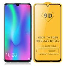 9D закаленное стекло для Huawei Honor 10 Lite, стекло 10i для Honor 20 Lite, 20i, полноэкранная защитная пленка, 9H взрывозащищенное
