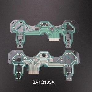Image 2 - TingDong 2PCS Tasten Band Platine für Dualshock 3 PS3 Controller SA1Q160A SA1Q159A Leitfähigen Film Tastatur Flex Kabel