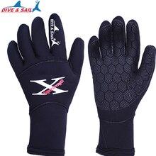 Мужские и женские 2 мм неопреновые перчатки для дайвинга, высокоэластичные перчатки для подводной охоты, подводного плавания, серфинга, катания на лодках, водных видов спорта, перчатки