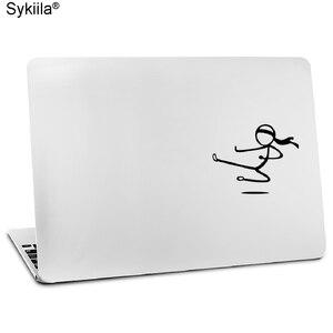 Виниловая пленка Sykiila для Apple Macbook, наклейка Air 11 12 13 Pro 13 15 16 Retina, наклейка на стену для ноутбука, стикмен, сенсорный парень, чехол для блокнота
