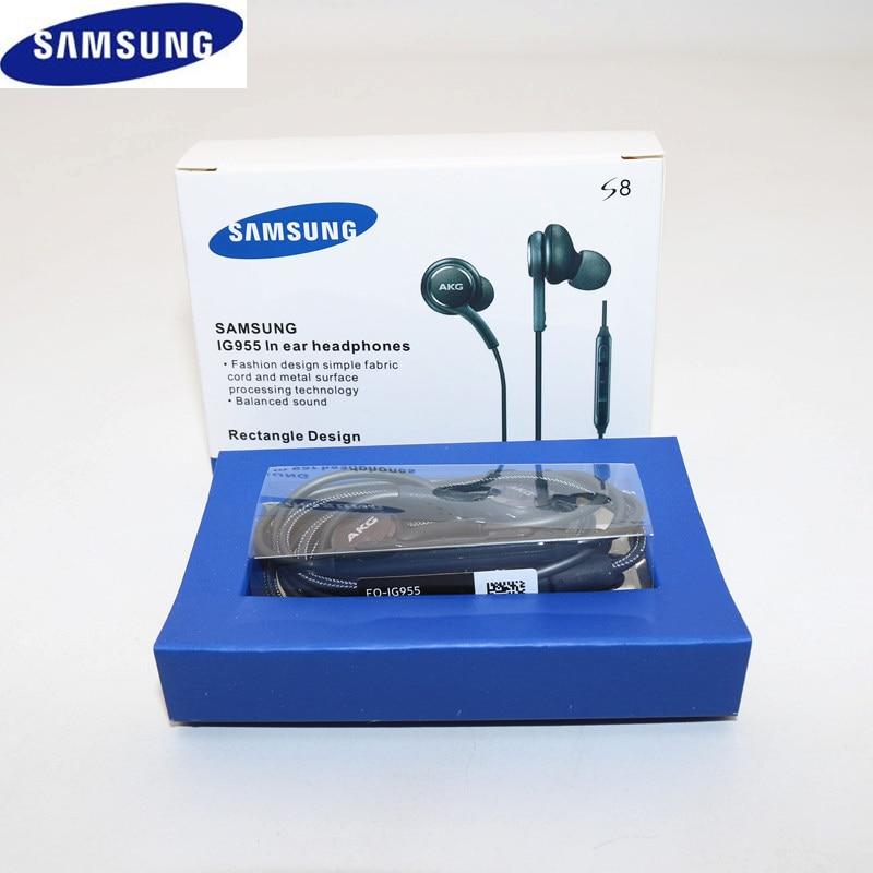 Стереонаушники с микрофоном, 3,5 мм, для Samsung Galaxy S10 S9 S8 Plus S7 S6 Edge Note 9 8 7
