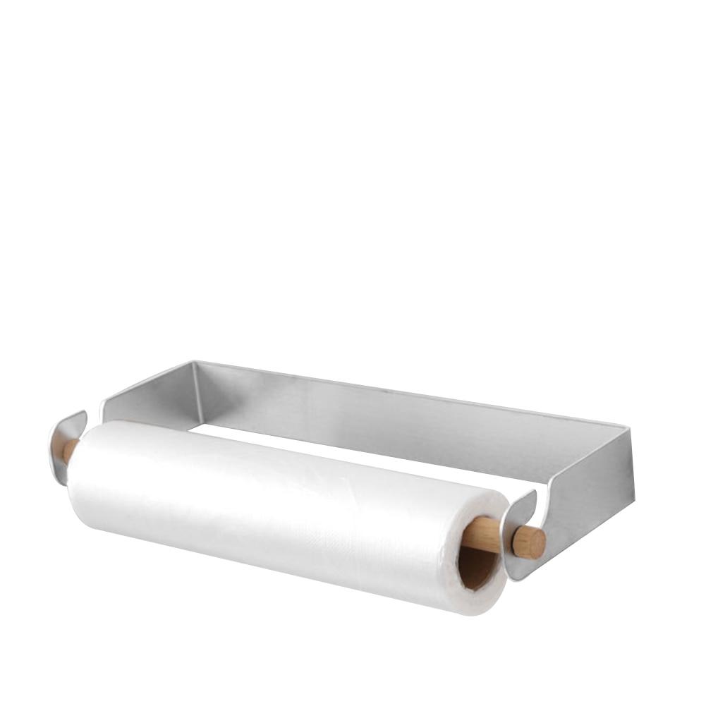 AddGrace 2 soportes de barra de cortina doble de acero inoxidable para montaje en pared con tornillos para barra de 4//5 o 1