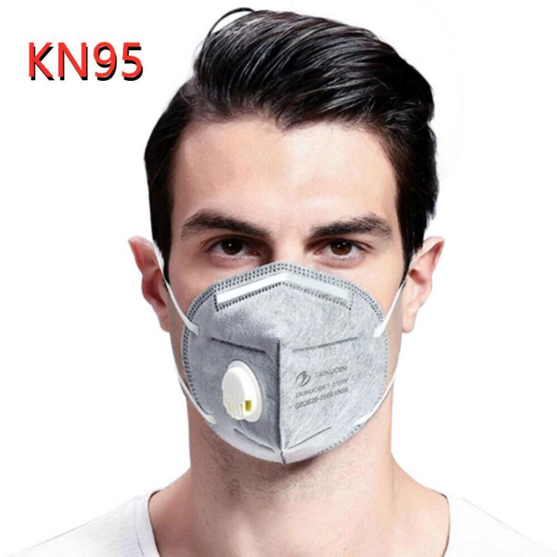 10PC FFP1 2 3 N95 Mask Respirator Face Mask Anti Dust Reusable N95 Mask Carbon PM2.5 Filter Proteccion Respirator Fpp3 Mask