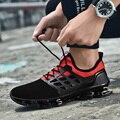 2019 männer Schuhe Neue Mode Mesh Atmungsaktive Schuhe Frühling/Herbst Herren Turnschuhe Beiläufige Schuhe Tenis Masculino Adulto