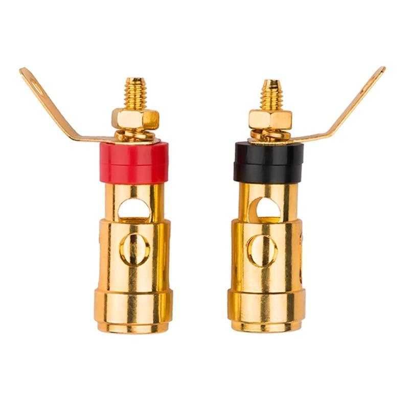 4 мм звуковой разъема бас Динамик терминальный тест пружинный аудио Динамик терминалы розетка зажим
