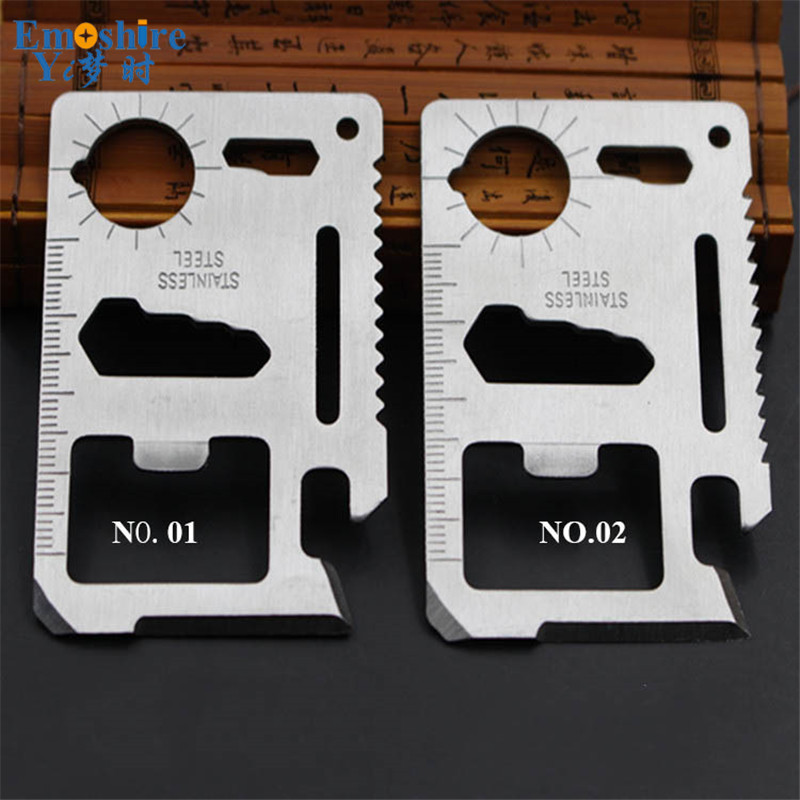 Creative Universal Multi-tool Card 11 Multi-function Utility Knife For Outdoor Metal Utility Knife For Sale  S035