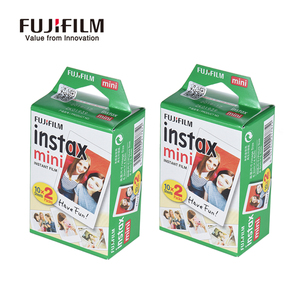 Image 5 - Original fujifilm instax mini filme 10 200 folhas branco papel de foto instantânea para fuji instax mini 9 8 25 90 7s filme + dom gratuito