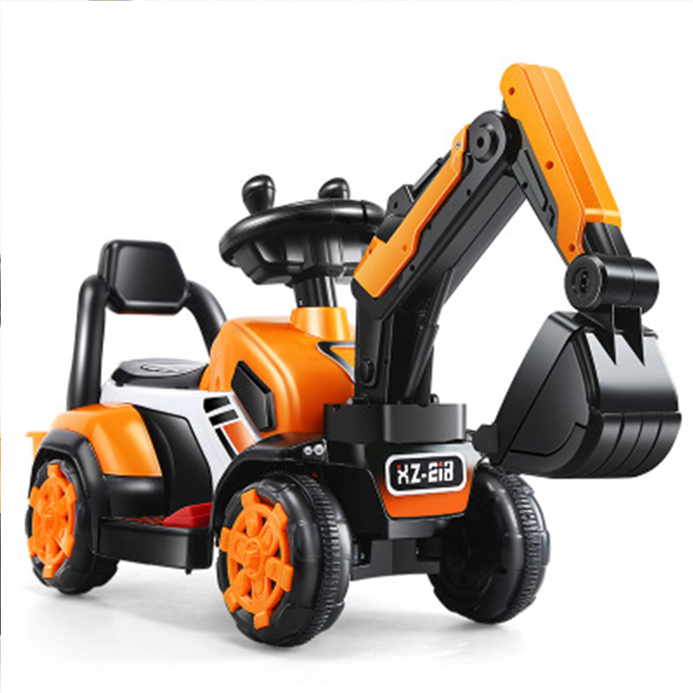 Children's Electric Car Toy Engineering Car Old Toy Battery Double Drive With Remote Control Knight Excavator Russia Free Shipp Ample Supply And Prompt Delivery