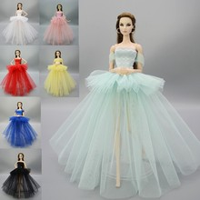 Doll Clothes Pretty Princess Dress Handmade Princess Wedding Dress Clothes for BJD SD Toy For Children Dolls Accessories For 1/6(China)