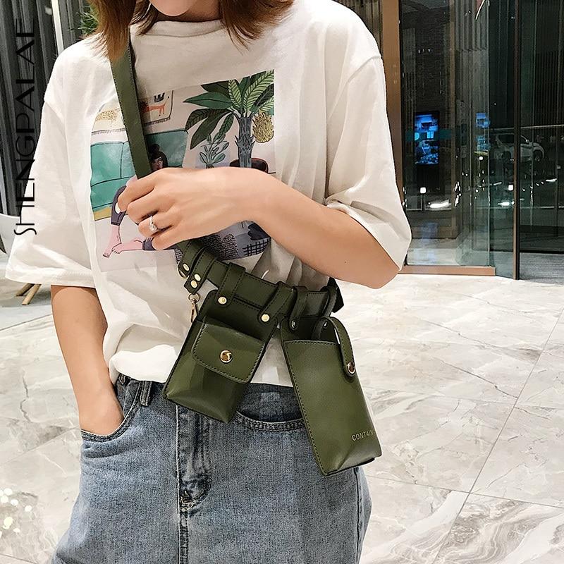 SHENGPALAE Vintage Synthetic Leather Women's Belt Beading Hit Color Patchwork Bag Belts Female Fashion Autumn 2019 Tide FV866