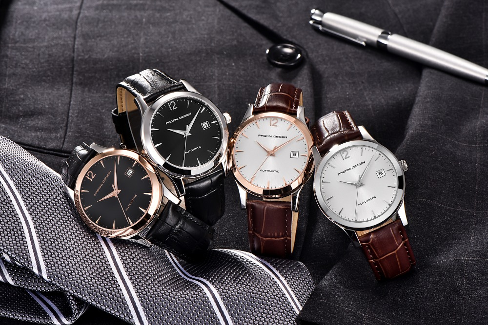 ALI shop ...  ... 32919968233 ... 4 ... 2019 new Ultra-thin simple classic men mechanical watches business waterproof watch luxury brand genuine leather automatic watch ...