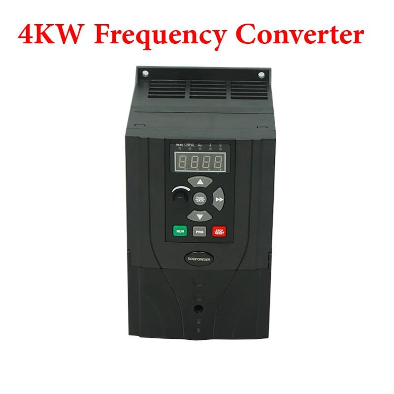 VFD 4KW 5KW 220V 380V Frequency Inverter Engraving Machine Uuivertor Special For Spindle Motor