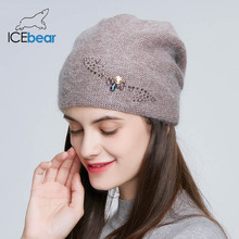 ICEbear Winter knitted hats for Women Russia casual beanies