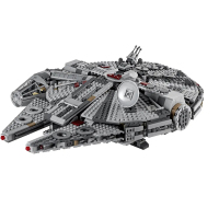 New Star Warsingd Toys Millennium Falcon Compatible lepinngly Star Warsing 75257 Building Blocks Toys for Children Birthday Gift