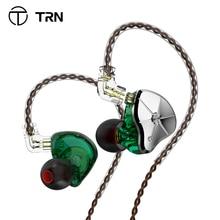 سماعة أذن, سماعة أذن TRN STM 1DD 1BA Hybrid سماعة أذن HIFI DJ مراقب تشغيل سماعة أذن رياضية سدادة أذن مرشح هجين قابل للاستبدال سماعة TRN VX